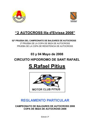 Reglamento - Mallorca Rallye