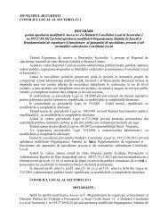 Modificare a Regulamentului de Organizare şi Funcţionare al ...