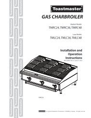 gas charbroiler - ServU-Online Restaurant Equipment and Supplies
