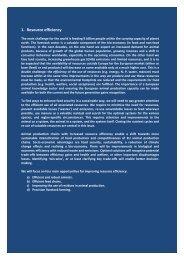 Resource efficiency - Animal Task Force