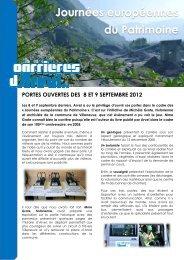 portes ouvertes des 8 et 9 septembre 2012 - Colas Suisse SA