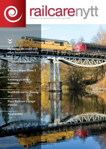 Railcare nyt 2008
