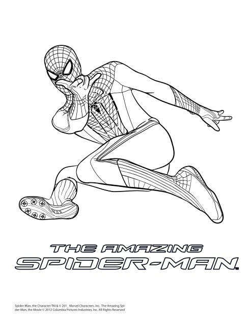 Spider Man Coloring Pages Walmart