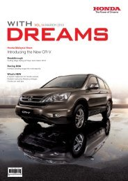 Introducing the New CR-V - Honda Malaysia