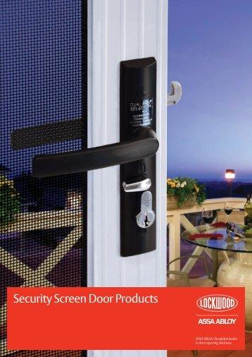Security Screen Door Products - Mpc.assaabloy.com - Assa Abloy