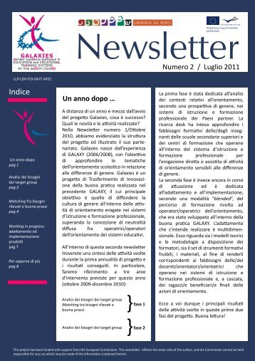 Download newsletter numero 2 - Galaxies