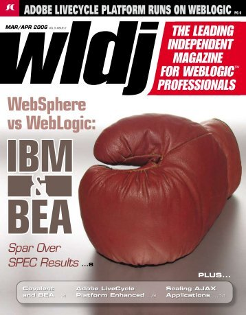 WebSphere vs WebLogic: - sys-con.com's archive of magazines ...
