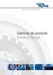 Gamme de produits Product Range - Reich-Kupplungen