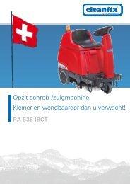 Brochure RA 535 IBCT - Cleanfix AG