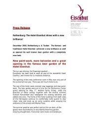 Press Release english mit Logo - HotelMOSAIK