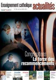 Enseignementcatholique - ECA - Enseignement catholique actualites