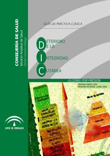 Deterioro de la Integridad Cutánea. - Úlceras.net