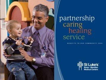 partnership caring healing service - St. Luke's