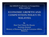 economic growth and competition policy in malaysia - KPPU