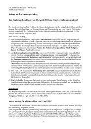 """FA """"Stadt des Wissens"""" / AG Schule - SPD Linke Berlin"""