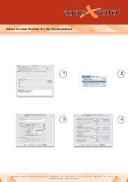 Adobe Acrobat Distiller 6.x für Akzidenzdruck