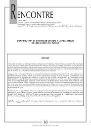 ENCONTRE - Banque de données en santé publique