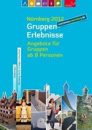 Gruppen- Erlebnisse - Congress- und Tourismus-Zentrale Nürnberg ...