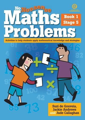 Maths Problems Book 1 Stage 5.pdf - Learning on the Loop