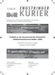 01/10 - Engstringer Kuriers