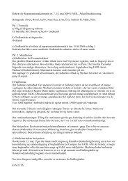 Referat for Repræsentantskabsmøde nr. 7, 14. maj 2009 i ... - fadl.dk