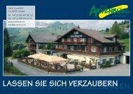 unser Hausprospekt - Arvenbüel Hotel in 8873 Amden SG