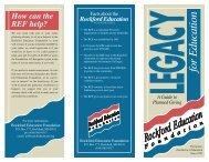 for Education - Rockford Public Schools