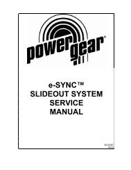 Fleetwood Motorhome Slideout Systems Operations     - Power Gear