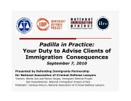 Your Duty to Advise Clients of Immigration Consequences - NACDL