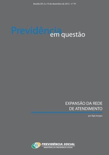 06 a 19 de dezembro de 2012 - Ministério da Previdência Social