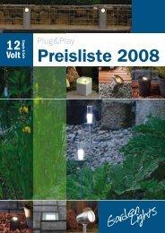 Preisliste 2008 - AFT