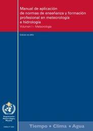 Manual de aplicación de normas de enseñanza y ... - E-Library - WMO