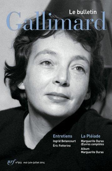 Browse Bulletin - Gallimard