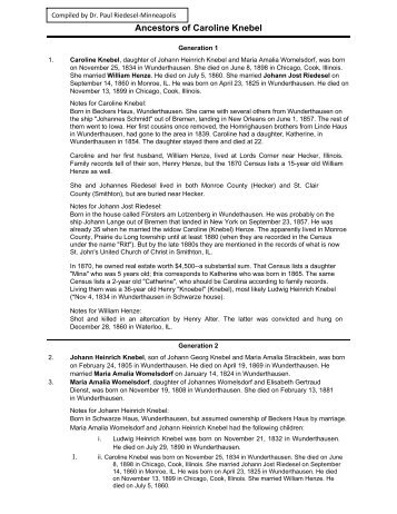 ancestry report pdf riedesel family history and genealogy