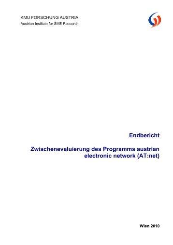 Endbericht Zwischenevaluierung des Programms austrian electronic ...