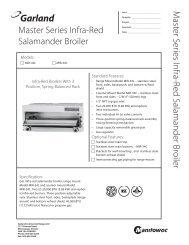 Master Series Infra-Red Salamander Broiler M ... - MyChefStore.com
