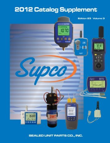 Table of Contents - Supco