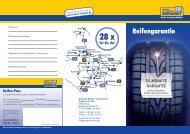 Reifengarantie - Ehrhardt Reifen und Autoservice GmbH & Co. KG