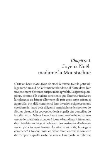 Joyeux Noël, madame la Moustachue - Decitre