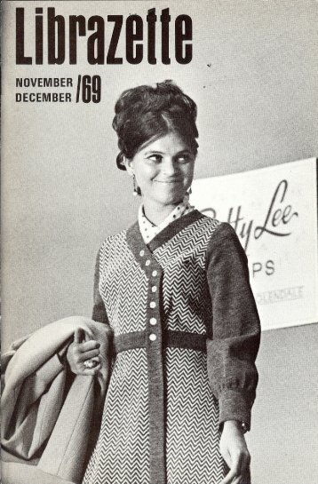 November, 1969 Librazette - Librascope Memories