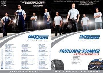 Frühjahr-Sommer Aktionspreise 2012 - Reifen Feneberg AG