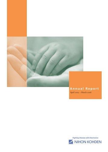 2006 Annual Report - Nihon Kohden