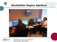 Akuttelefon Region Sjælland