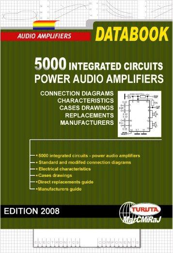 Power audio amplifiers- integrated circuits - Turuta Electronics World