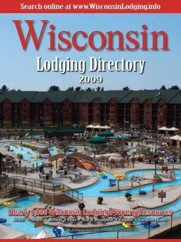 Lodging Directory - Wisconsin Department of Tourism