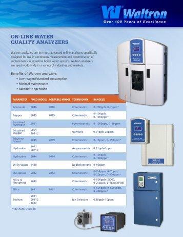 Download Waltron brochure - Thermo/Cense Inc.