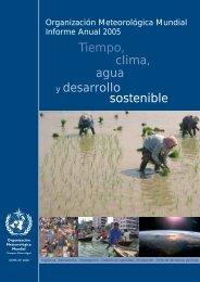 y desarrollo Tiempo, clima, agua sostenible - E-Library - WMO