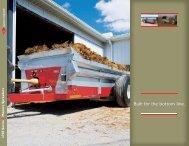 3700 Series manure spreaders - Massey Ferguson
