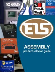 EIS Assembly Product Selector Guide