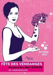 Programme (PDF) - Fête des Vendanges de Montmartre